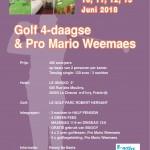 Golf 4 daagse MarioWeemaes juni